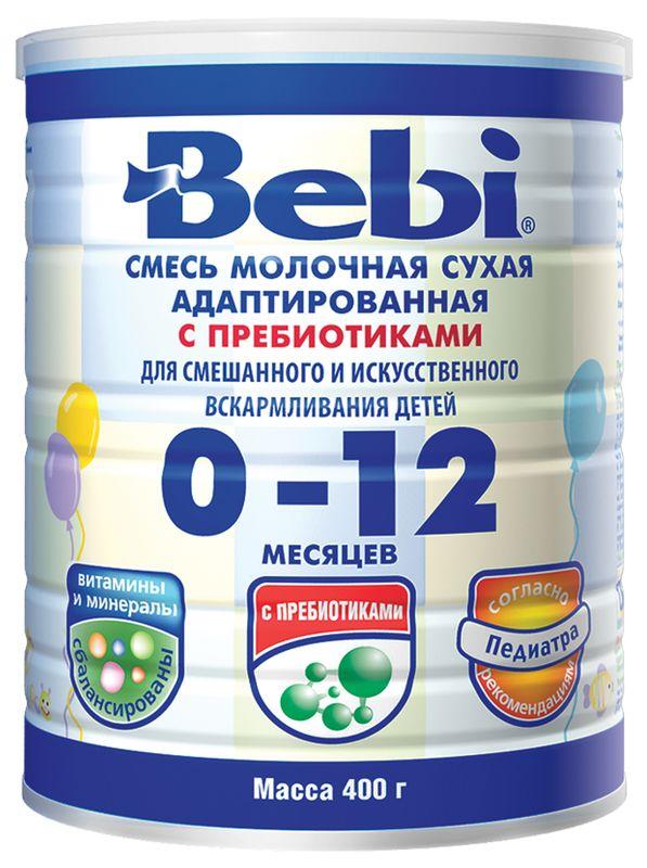 """Молочная смесь Беби """"Bebi 0-12"""" 400,0 (банка)"""