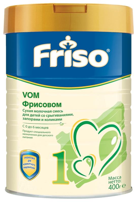 """Молочная смесь Фрисо """"Friso Vom 1 (Фрисовом 1)"""" 400,0"""