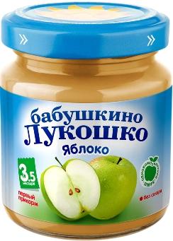 """Пюре """"Яблоко без сахара"""" 100,0 """"Лукошко"""""""