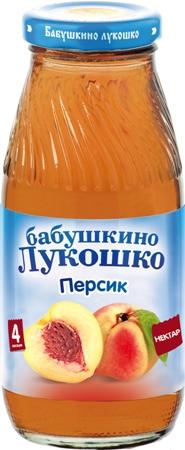 """Нектар """"Персик (с мякотью)"""" 200 мл """"Лукошко"""""""