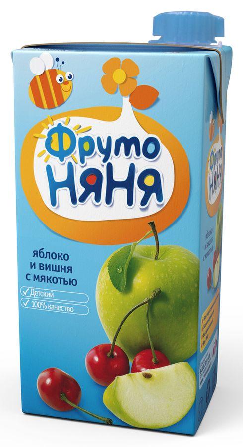 """Нектар """"Яблоко-Вишня (с мякотью)"""" 500 мл """"ФрутоНяня"""""""