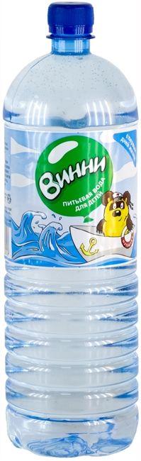 """Вода детская питьевая """"Винни"""" 1,5 л"""