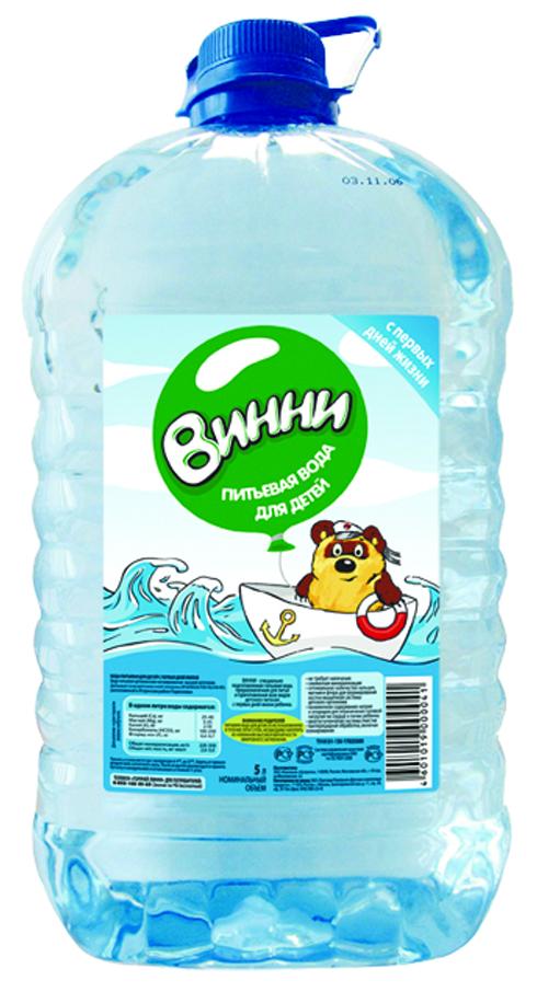 """Вода детская питьевая """"Винни"""" 5 л"""