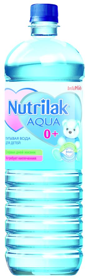 """Вода детская питьевая """"Нутрилак-Аква"""" 1,5 л"""