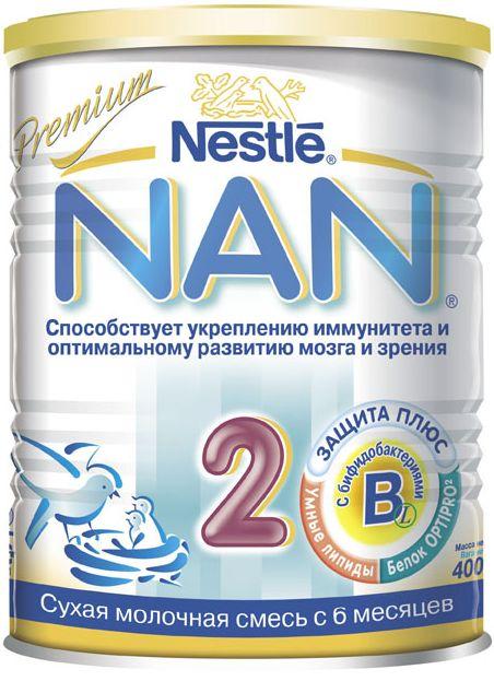 """Молочная смесь НАН """"NAN-2"""" 400,0"""