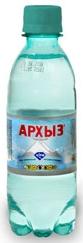 """Вода питьевая столовая """"Архыз"""" 0,5 л (газ)"""