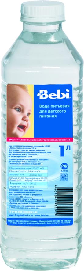 """Вода детская питьевая """"Беби"""" 1 л"""