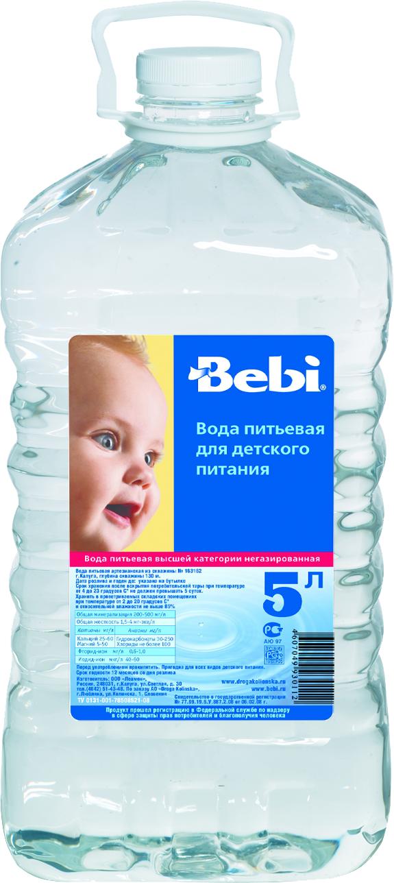 """Вода детская питьевая """"Беби"""" 5 л"""