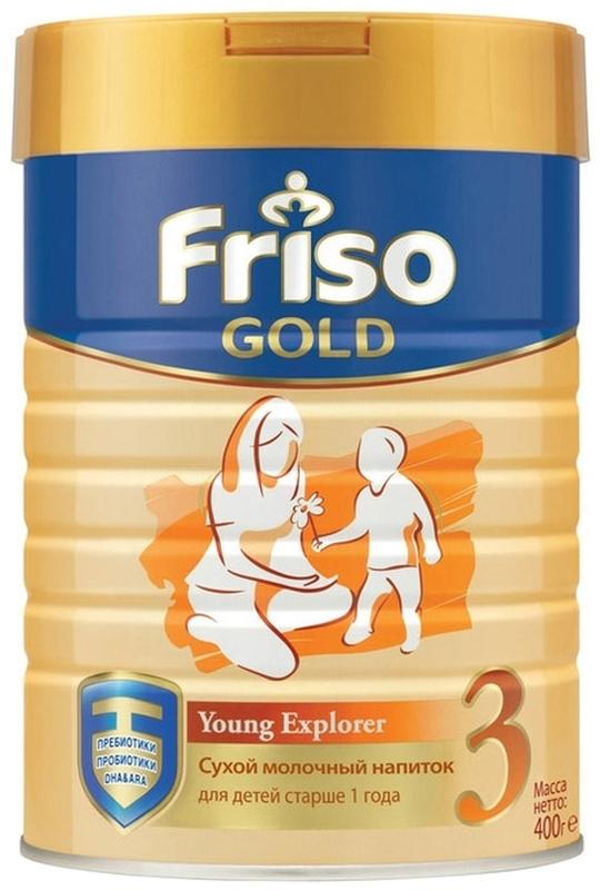 """Молочная смесь Фрисо """"Friso Gold 3 (Фрисолак-3 Gold)"""" 400,0"""