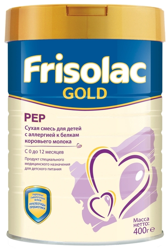"Молочная смесь Фрисо ""Frisolac Gold Pep (Фрисопеп)"" 400,0"