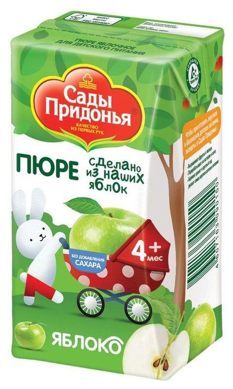 """Пюре """"Яблоко без сахара"""" 125,0 """"Сады Придонья"""""""