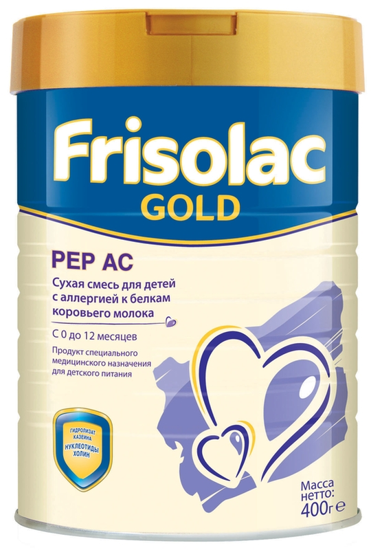 "Молочная смесь Фрисо ""Frisolac Gold Pep AC (Фрисопеп АС)"" 400,0"