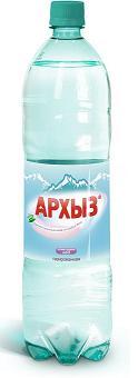 """Вода питьевая столовая """"Архыз"""" 1,5 л (газ)"""