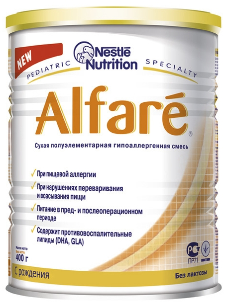 """Молочная смесь Алфаре """"Alfare"""" 400,0"""