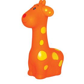 """Игрушка для ванны """"Жираф"""" (с пищалкой), 01719, """"ПОМА"""""""
