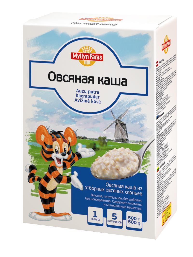 """""""Мюллюн Парас"""" каша безмолочная овсяная 500,0"""
