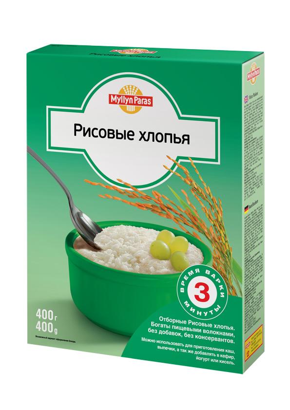 """""""Мюллюн Парас"""" каша безмолочная """"Рисовые хлопья"""" 400,0"""
