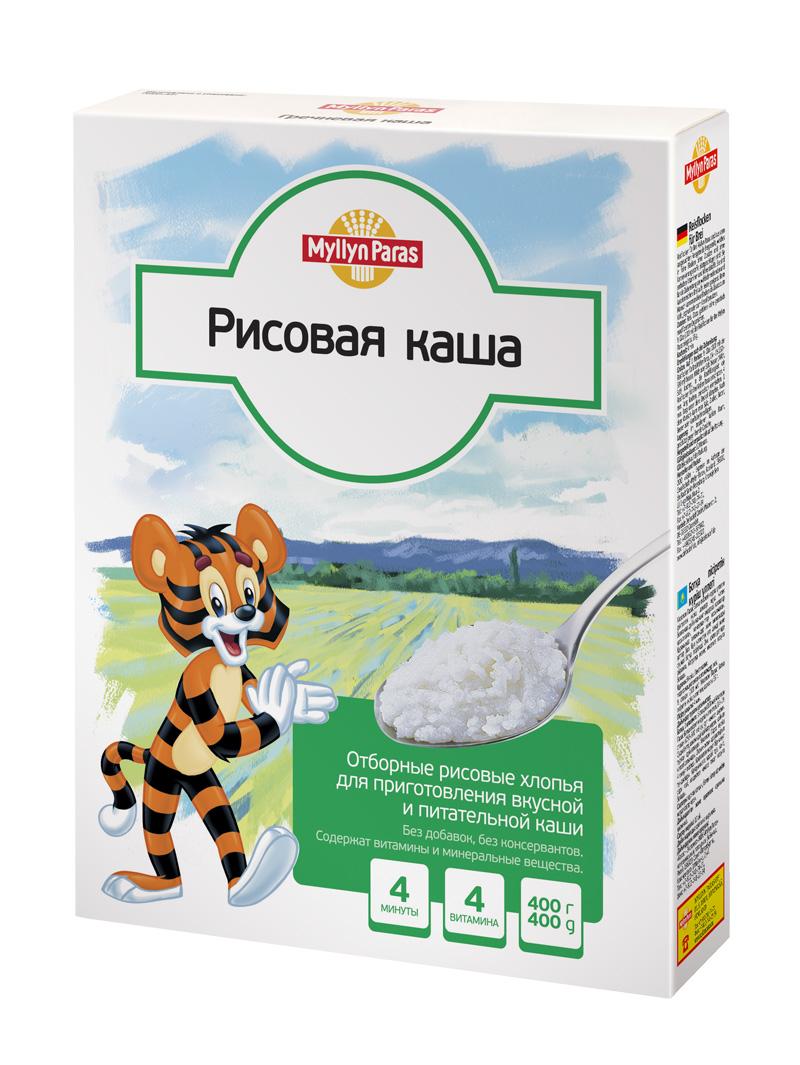 """""""Мюллюн Парас"""" каша безмолочная рисовая 400,0"""