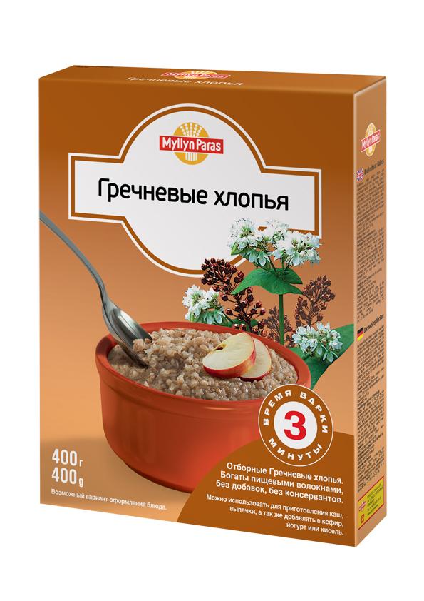 """""""Мюллюн Парас"""" каша безмолочная """"Гречневые хлопья"""" 400,0"""