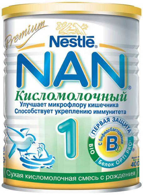 "Молочная смесь НАН ""NAN Кисломолочный 1"" 400,0"
