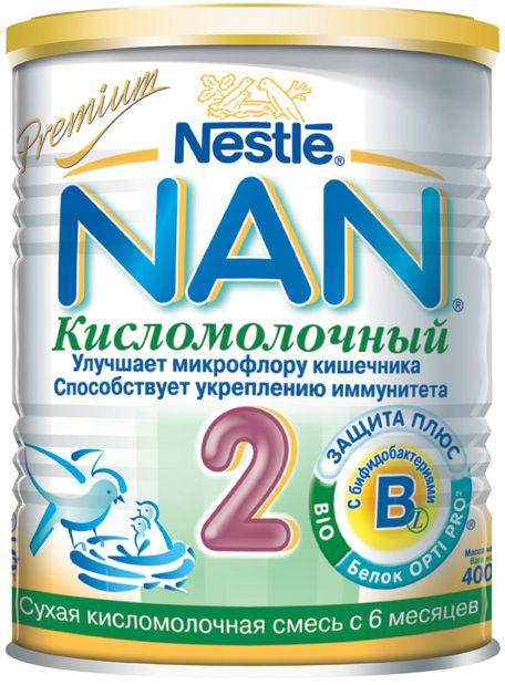 "Молочная смесь НАН ""NAN Кисломолочный 2"" 400,0"