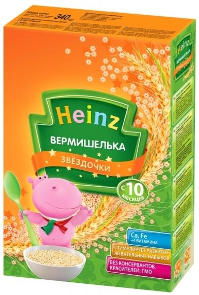 """""""Хайнц"""" детская """"Вермишелька ЗВЕЗДОЧКИ"""" Heinz 340,0"""