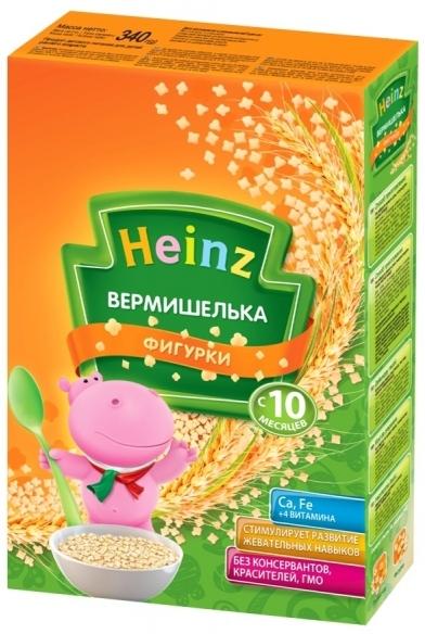 """""""Хайнц"""" детская """"Вермишелька ФИГУРКИ"""" Heinz 340,0"""