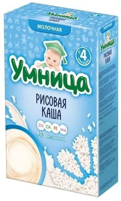 """""""Умница"""" каша молочная рисовая 200,0"""