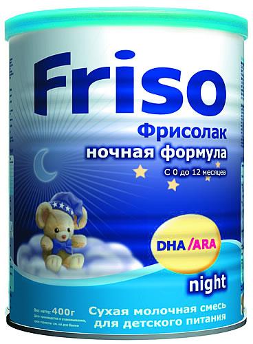 """Молочная смесь Фрисо """"Friso Night (ночная формула)"""" 400,0"""