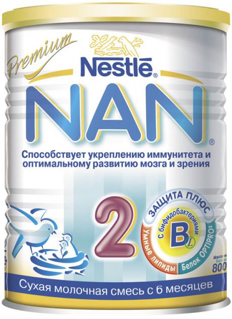 """Молочная смесь НАН """"NAN-2"""" 800,0"""