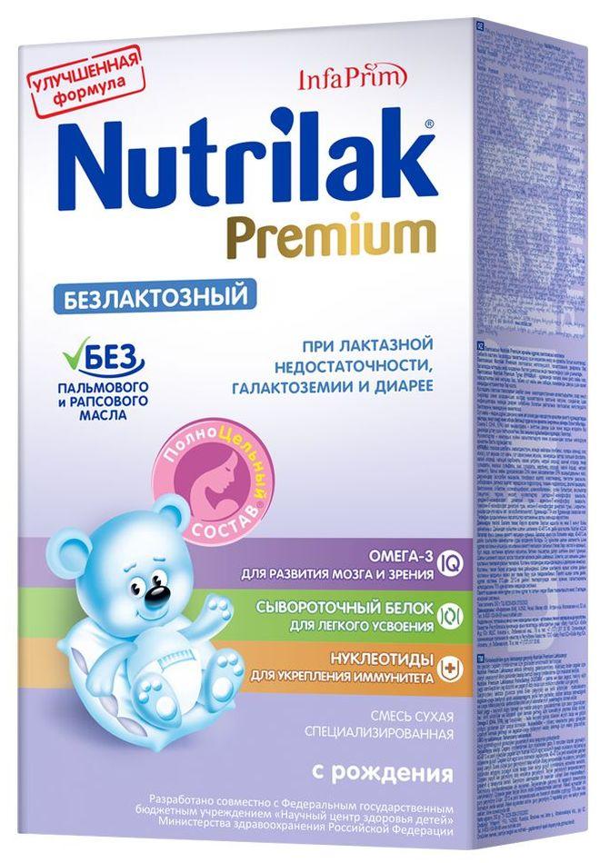 """Молочная смесь Нутрилак """"Nutrilak Premium безлактозный"""" 350,0"""
