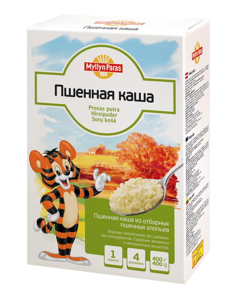 """""""Мюллюн Парас"""" каша безмолочная пшенная 400,0"""