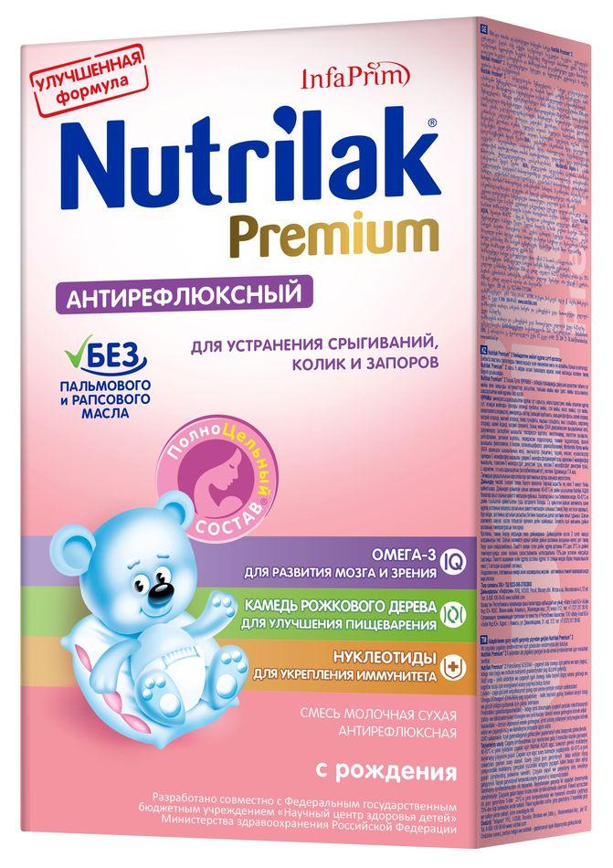 """Молочная смесь Нутрилак """"Nutrilak Premium антирефлюксный"""" 350,0"""