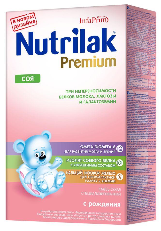 """Смесь безмолочная Нутрилак """"Nutrilak Premium СОЯ"""" 350,0"""