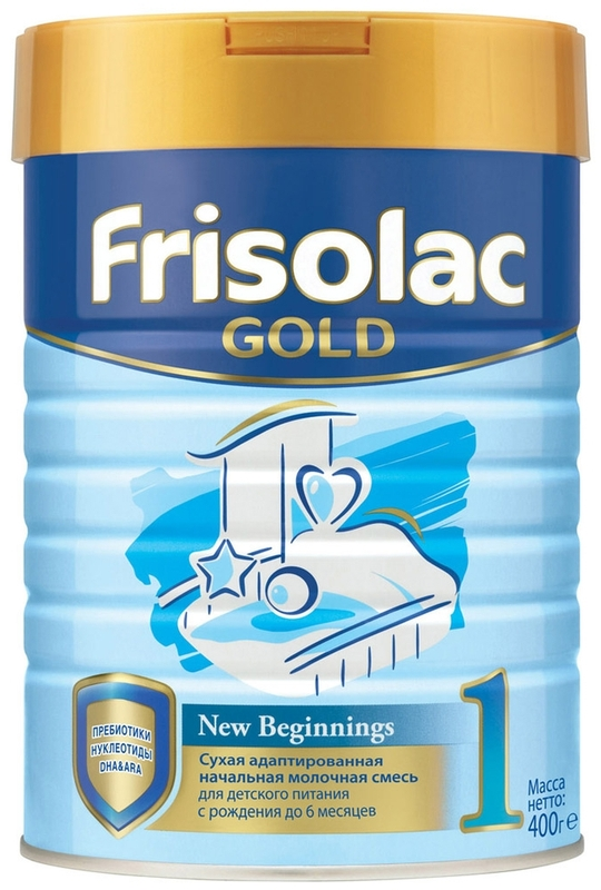 """Молочная смесь Фрисо """"Frisolac Gold 1 (Фрисолак-1 Gold)"""" 400,0"""