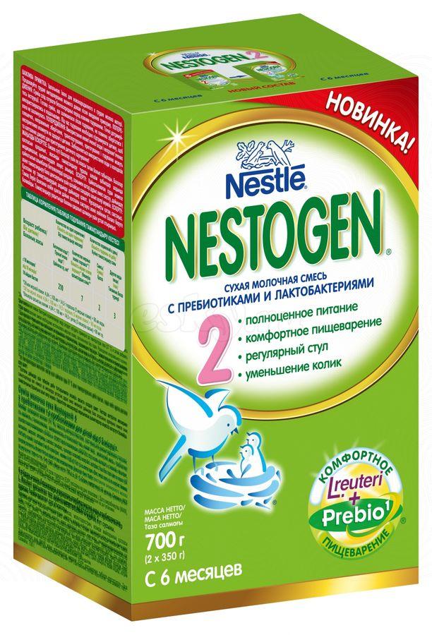 "Молочная смесь Нестожен ""Nestogen-2 (с пребиотиками и лактобактериями)"" 700,0"