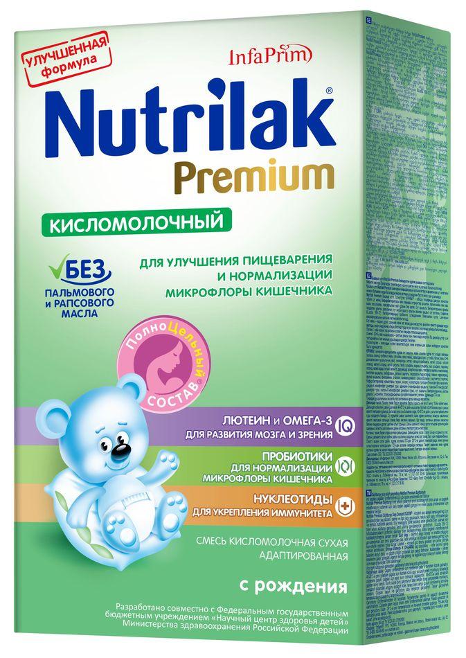 """Молочная смесь Нутрилак """"Nutrilak Premium кисломолочный"""" 350,0"""