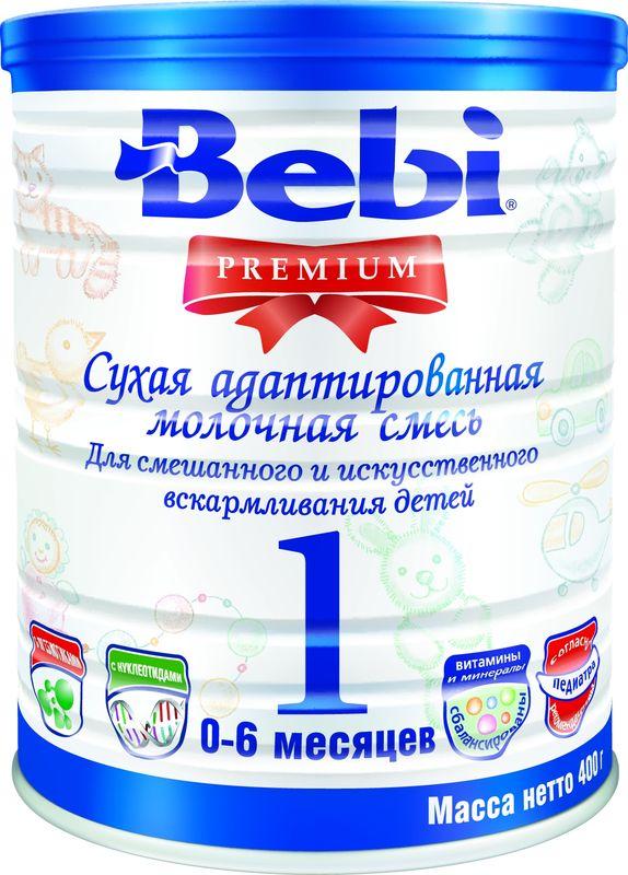"""Молочная смесь Беби """"Bebi Premium 1"""" 400,0 (банка)"""
