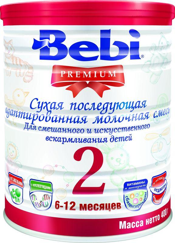 """Молочная смесь Беби """"Bebi Premium 2"""" 400,0 (банка)"""