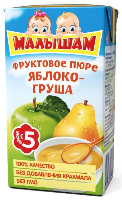"""Пюре """"Яблоко-Груша"""" 125,0 """"Малышам"""""""