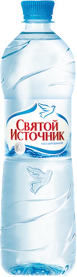 """Вода питьевая столовая """"Святой источник"""" 0,33 л (н/газ)"""