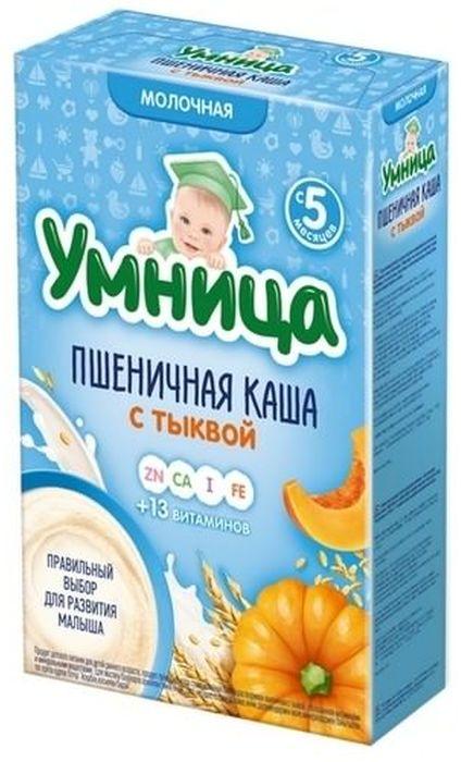 """""""Умница"""" каша молочная пшеничная с тыквой 200,0"""