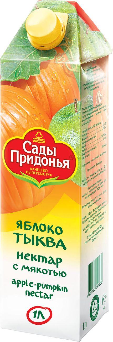 """Нектар """"Яблоко-Тыква (с мякотью)"""" 1000 мл """"Сады Придонья"""""""