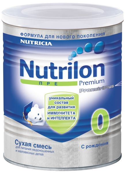 """Молочная смесь Нутрилон """"Nutrilon ПРЕ 0"""" 400,0"""