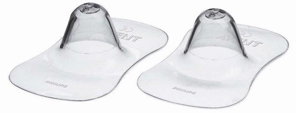 """Защитные накладки на сосок (2 штуки в упак., размер малый, для кормления), SCF156/00, """"AVENT"""""""