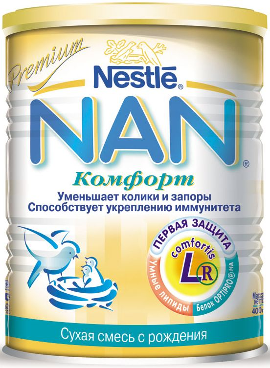 "Молочная смесь НАН ""NAN Комфорт"" 400,0"