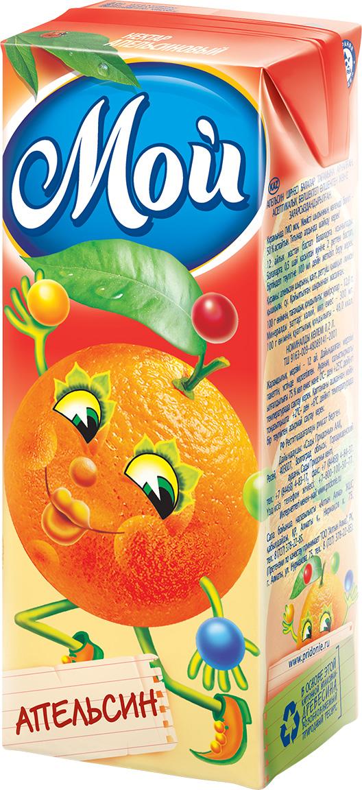 """Нектар апельсиновый 200 мл """"Мой"""""""
