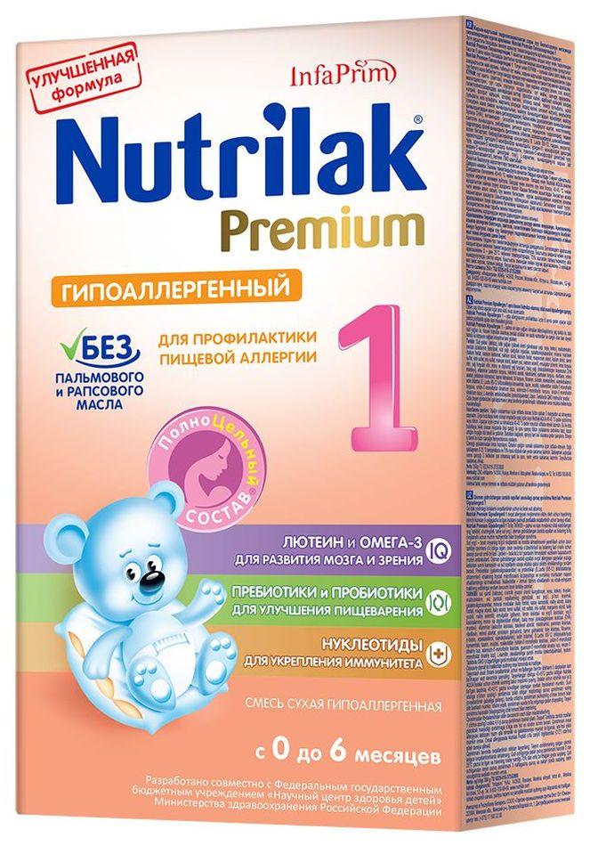 """Молочная смесь Нутрилак """"Nutrilak Premium 1 гипоаллергенный (0-6)"""" 350,0"""