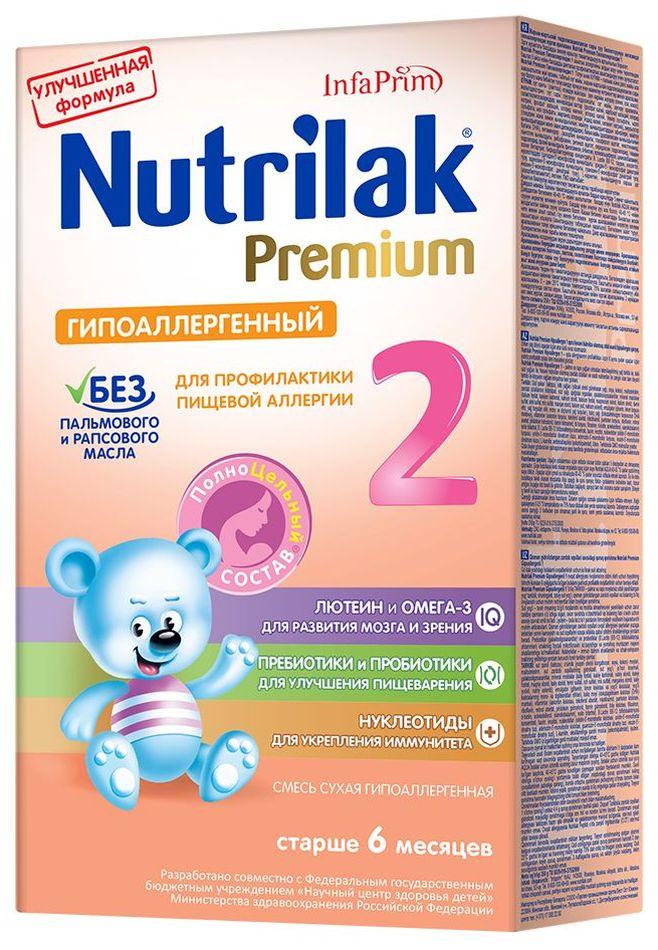 """Молочная смесь Нутрилак """"Nutrilak Premium 2 гипоаллергенный (6-12)"""" 350,0"""