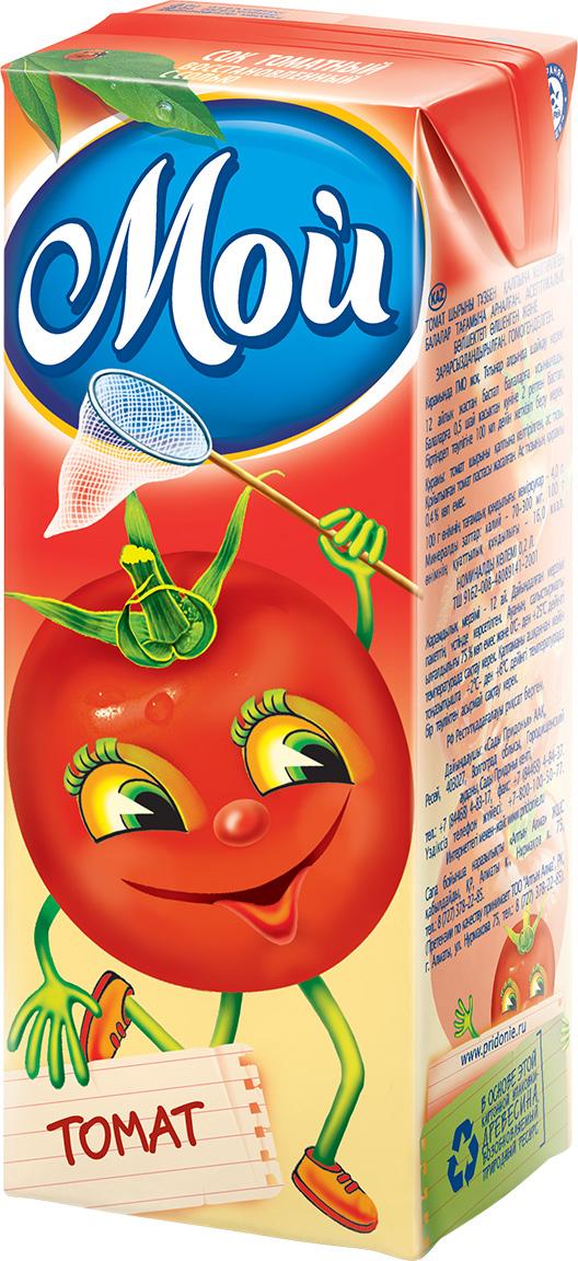 """Сок томатный 200 мл """"Мой"""""""